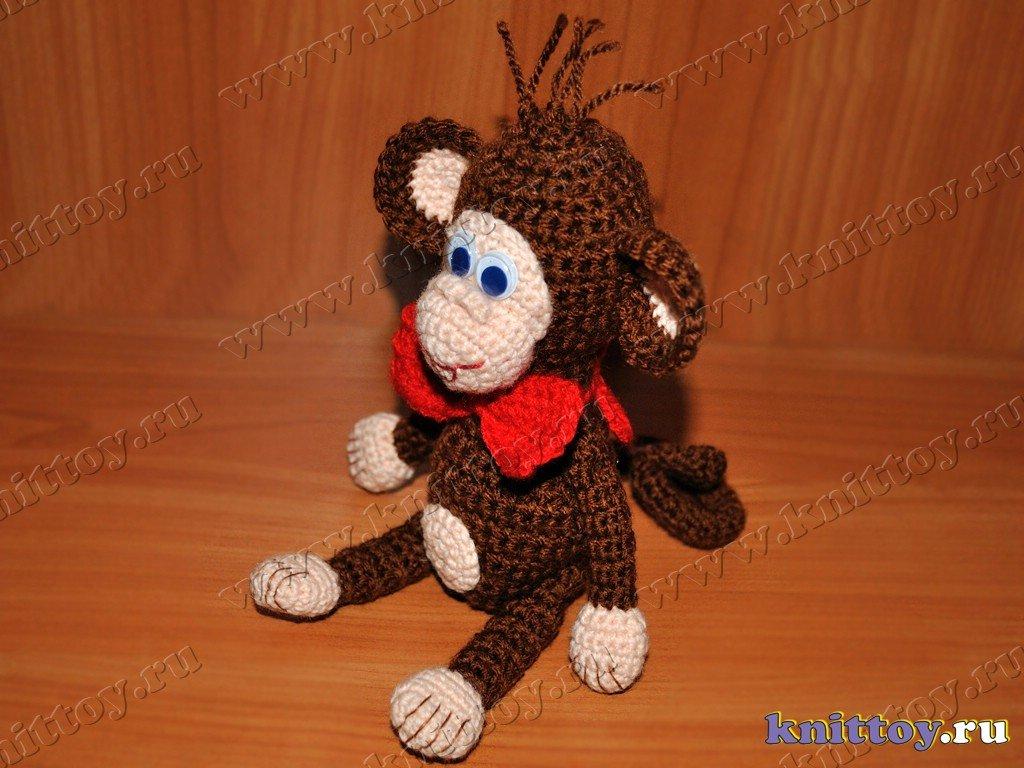 Свое вязание крючком обезьянки 430